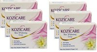 Healthvit Kozicare Kojic Acid, Vitamin E, Arbutin Skin Whitening and Lightening Soap - 75 g (Pack of 6)- Amazon