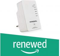 (Renewed) Digisol DG-WR4801AC AC750 Dual-Band Wireless Repeater (White)- Amazon