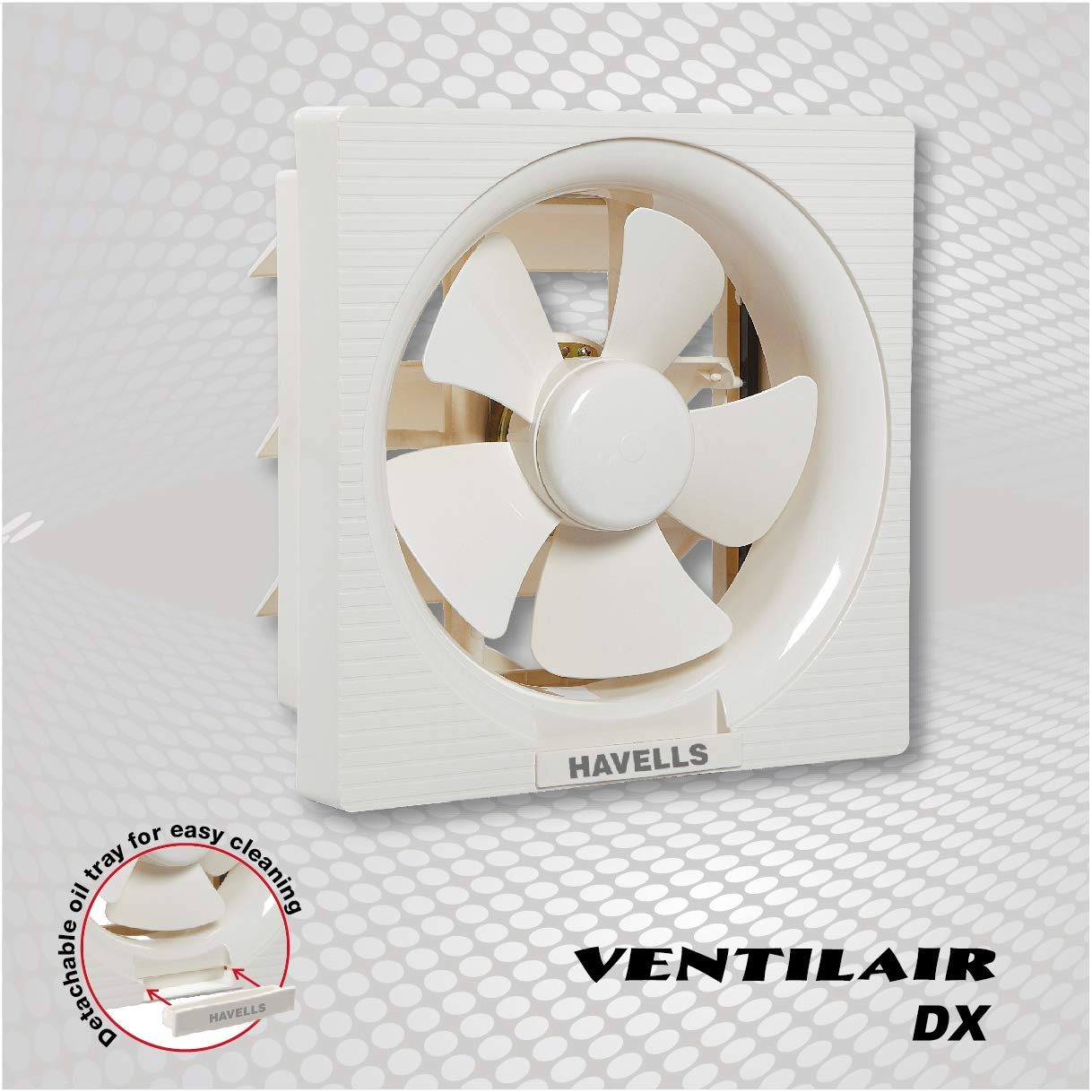 Havells FHVVEDXOWH08 Ventil Air Dx 200mm Sweep Size Fan (Off White)- Amazon
