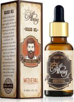 Captain Thug Medieval Beard Growth Oil - Ultra Premium - 9 Essential Oils - Promotes Beard and Mustaches Growth- Amazon