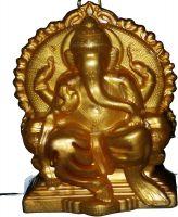 Lexton DPL-14 4-Watt Lighting Ganesha Idol (Gold)- Amazon