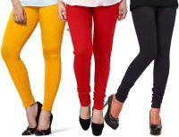 1 Stop Fashion Women's Leggings (Pack of 3)- Amazon