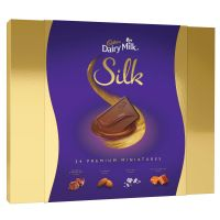 [LD] Cadbury Dairy Milk Silk Miniatures Chocolate Gift Pack, 240 g- Amazon