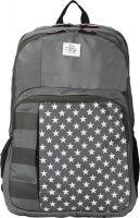 Tommy Hilfiger Mid 33 L Backpack(Black, Grey)- Flipkart