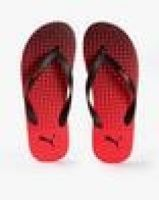 [Size 6, 7, 8, 9, 10] Buy Red & Black Flip Flop & Slippers for Men by Puma Online- Ajio