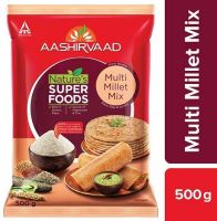 [Pantry] Aashirvaad Nature's Super Foods Multi Millet Mix Pouch, 500 g- Amazon