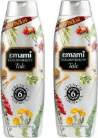 Emami Golden Beauty Moon Drop French Perfume Talc  (800 g)- Flipkart