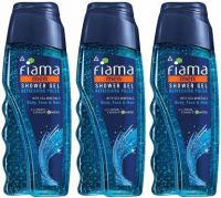 Fiama Men Refreshing Pulse Shower Gel  (3 x 250 ml)- Flipkart