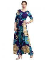 [Size XS] Label RITU KUMAR Women's A-Line Maxi Dress- Amazon