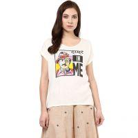[Size S, M] Akkriti By Pantaloons Women's Cotton Tunic Top- Amazon