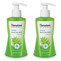 Himalaya Herbals Purifying Neem Face Wash, 200ml (Pack of 2)- Amazon