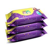 Roo & Boo Baby Wet Wipes - Paraben Free 99% Water Wipes (72 pcs/pack) (Pack of 3)- Amazon