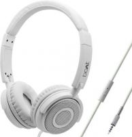 boAt Bass Heads 900 Wired Headphones with Mic (White)- Amazon