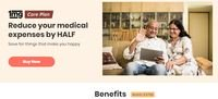 1mg Care Plan - Reduce Medical expenses By Half + Free Lab Test & More Benefits
