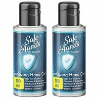 Limited location only -Bella Vita Organic SafeHands Hand Sanitizer Travel 2 P...