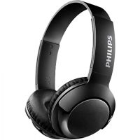 Philips SHB3075BK/00 Wireless On-Ear Headphones with Mic (Black)- Amazon