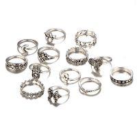 Shining Diva Fashion Oxidized Silver Fashion Ring For Women (Silver)(9159r)- Amazon