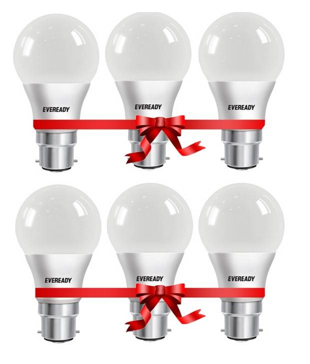 978764ef3 Pack of 6 LED Bulbs Flat Offer on Snapdeal Price Rs. 599