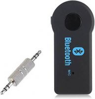 SS v4.0 Car Bluetooth Device with 3.5mm Connector, USB Cable, Audio Receiver, Adapter Dongle  (Black)- Flipkart