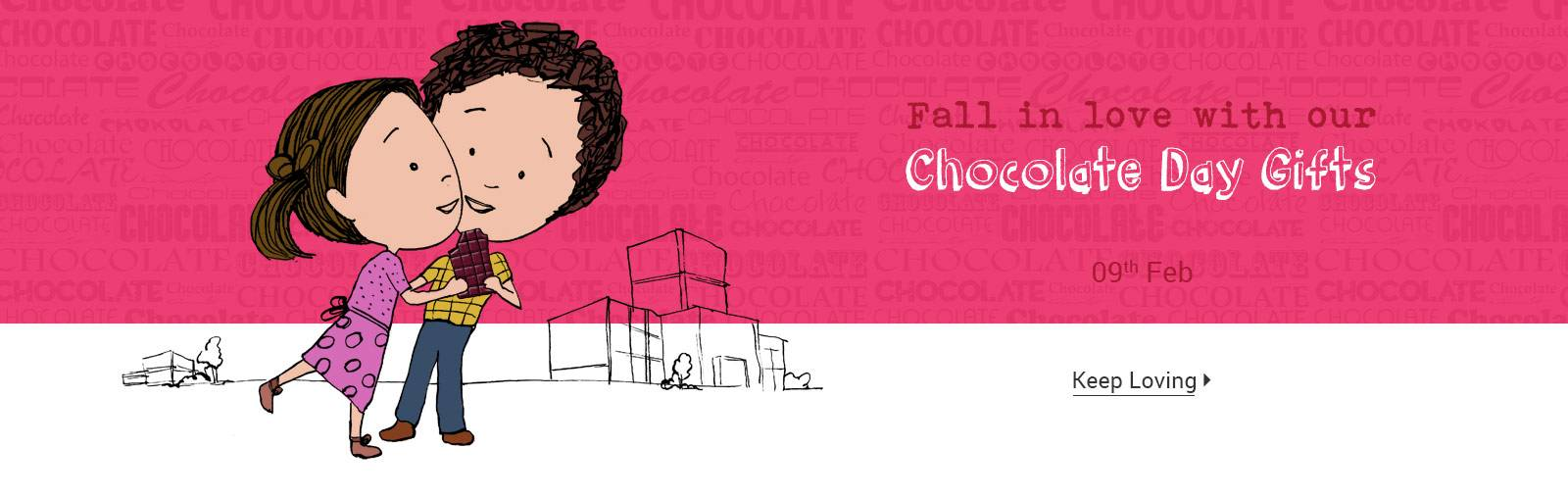 Valentine Week Special: Flat 15% OFF On Chocolate Day Gifts