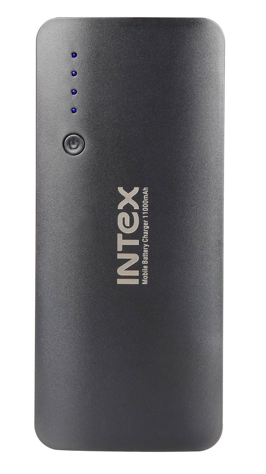 Intex IT-PB11K  Portable 11000 mAh Power Bank (Black)