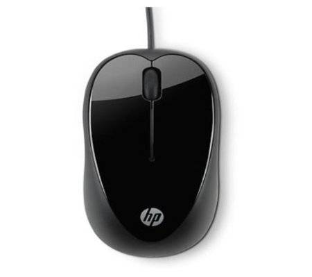 HP X1000 Wired Mouse (Black/Grey)