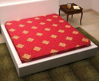 Story@Home 5-inch King Size Coir Mattress (Maroon, 75x72x5)- Amazon