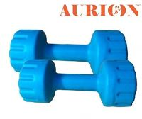 Aurion Set of 2 5kg PVC Dumbbells Weights Fitness Home Gym Exercise Barbel- Amazon