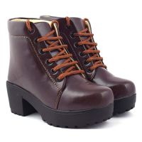 BEONZA Women High Neck Boots Shoes- Amazon