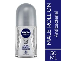 Nivea Silver Protect Deodorant Roll On For Men, 50ml- Amazon