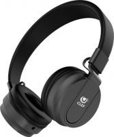 Clef N200 Wired Headset with Mic  (Black, Over the Ear)- Flipkart