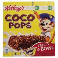 Kellogg's Coco Pops Snack Bar (Pack of 6 bars), 120g- Amazon