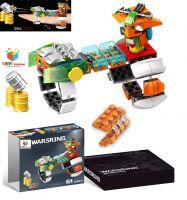 Toys Bhoomi 159 Pieces Target Shooting Building Blocks Bricks Construction Handheld DIY Gun Playset Toy For Kids- Amazon