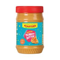 [Pantry] Feasters Peanut Butter Crunchy Bottle, 510g- Amazon