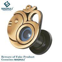 MADHULI Ultra Clear 180 Degree Door Eye/Viewer (Antique Brass Finish) Om with Ganesha Model- Amazon