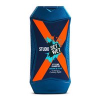 Set Wet Studio X Styling Shampoo For Men - Cooling and Style 180 ml