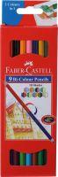 Faber-Castell 9 Bi Colour Pencils Pencil(Assorted)- Flipkart