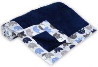 Miss & Chief Printed Single Baby Blanket(Microfiber, Blue)- Flipkart