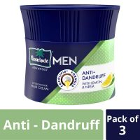 Parachute Advansed Men Hair Cream, Anti-Dandruff, 100 gm (Pack of 3)- Amazon