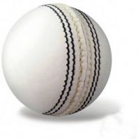 Raisco One Star Cricket Leather Ball - Size: 3  (Pack of 1, White)- Flipkart