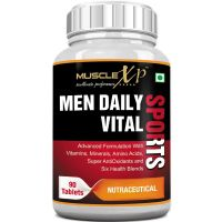 MuscleXP MultiVitamin Men Daily Sports with 47 Nutrients (Vitamins, Minerals & Amino Acids) 90 Tablets- Amazon