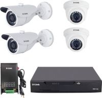 D-Link 720p HD 2 MP CCTV kit Security Camera(8 Channel)- Flipkart