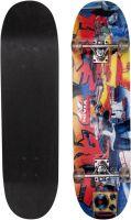Nivia sk-801-s 8 inch x 31 inch Skateboard(Black, Blue, Pack of 1)- Flipkart