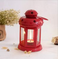 TIED RIBBONS Lantern TeaLight Candle Holder with Tea Light Candle- Amazon
