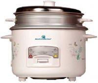 [Prepay] Kelvinator KRC-718 700-Watt 1.8-Litre Rice Cooker, Food Steamer(1.8 L, White)- Flipkart