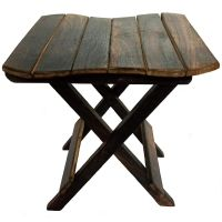 Hindoro Wooden Design Folding Table- Amazon