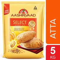 Aashirvaad Select Superior Sharbati Atta, 5kg- Amazon