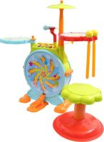 Miss & Chief Jazz Drum Toy  (Multicolor)- Flipkart