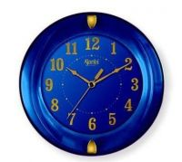 Ajanta Simple Clock (Blue, 1267)- Amazon