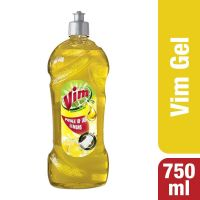 Vim Dishwash Gel - 750 ml (Lemon)- Amazon